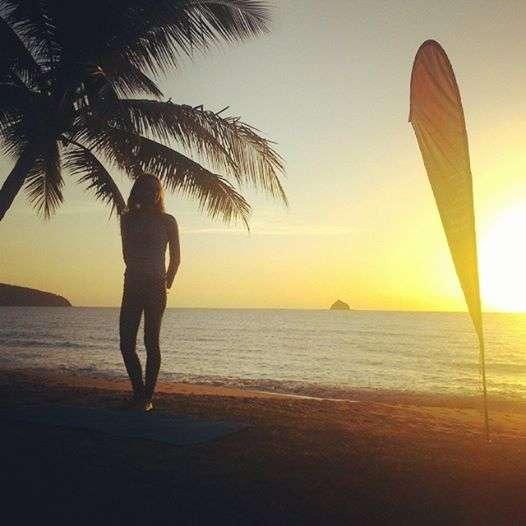 Sunrise Yoga in Palm Cove