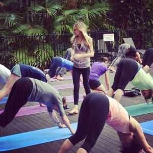 Yoga Class Palm Cove