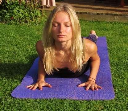 cobra pose  hartig yoga