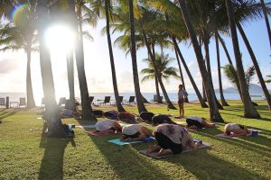 Beach Yoga Cairns