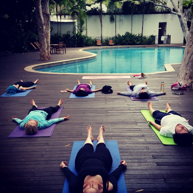 Treat yourself to a Morning Yoga Class in Palm Cove