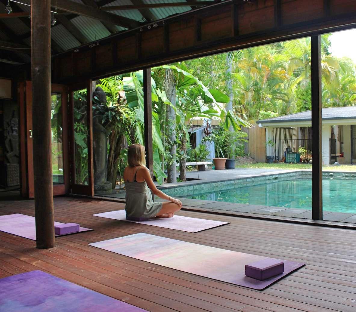 Bali Hut Studio Hartig Yoga