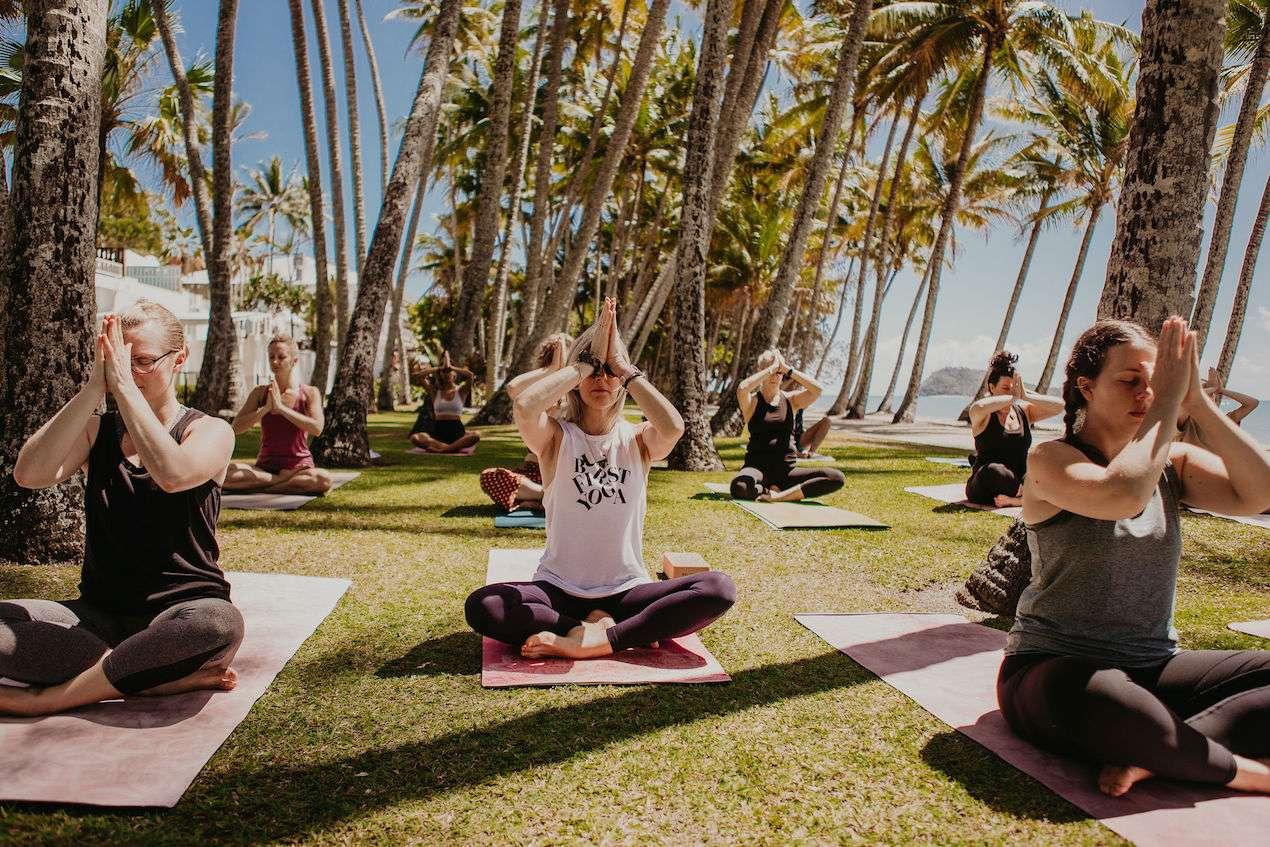 Yoga Palm Cove Beach